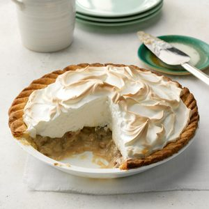 Meringue-Topped Pecan Custard Pie