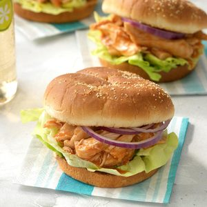 Sweet and Spicy Pineapple Chicken Sandwiches