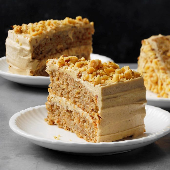 Apple Spice Cake with Brown Sugar Frosting