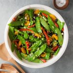 Asian Snow Pea Toss