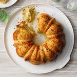 Garlic Rosemary Pull-Apart Bread