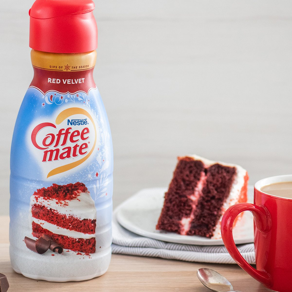 red velvet coffee creamer coffeemate