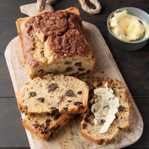 Gluten- and Dairy-Free Cinnamon Raisin Bread