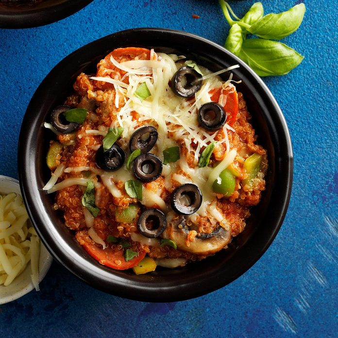 Instant Pot Pizza Quinoa Casserole