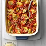 Decadent Spinach-Stuffed Shells