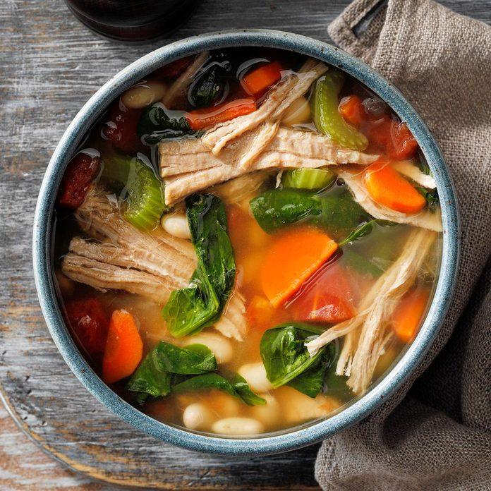 Day 7: Hearty Pork Bean Soup