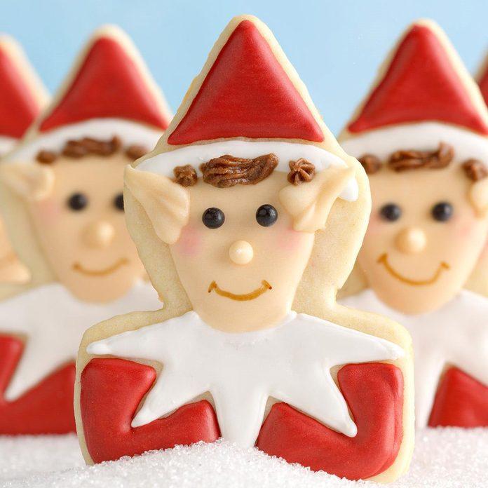 Expert Baker: Santa's Elf Cookies