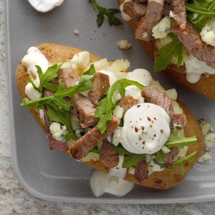 Steakhouse Baked Potatoes