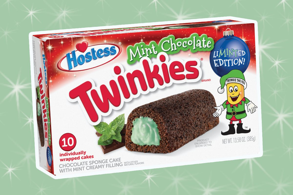 mint chocolate twinkies