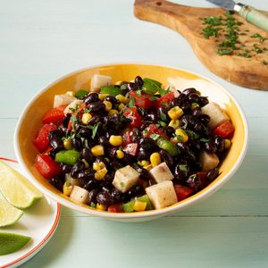 Jicama and Black Bean Salad