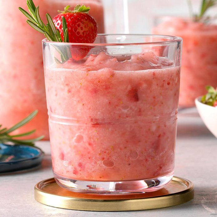 Rosemary Strawberry Daiquiri