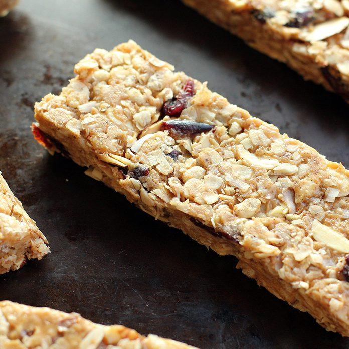 low sugar granola bars