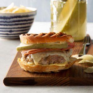 Cuban Sandwich Burgers