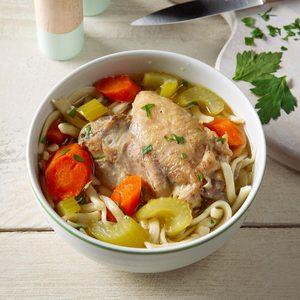 Grandma's Pressure-Cooker Chicken Noodle Soup