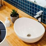 Heres How to Make A Small Bathroom Feel Bigger, According to Joanna Gaines