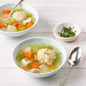 Matzo Ball Soup