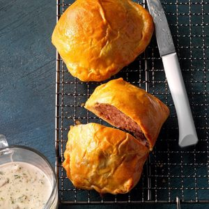 Air-Fryer Ground Beef Wellington