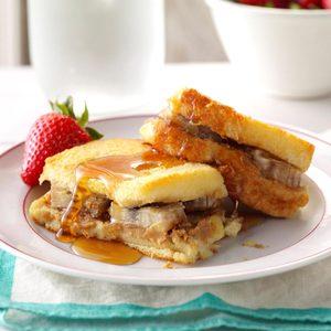 PB & Banana French Toast Bake