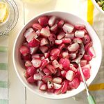 Air-Fried Radishes