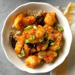Air-Fryer General Tso's Cauliflower