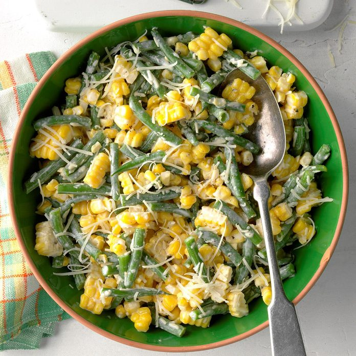 Corn and Green Bean Salad