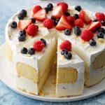 Coconut-Lemon Ice Cream Cake