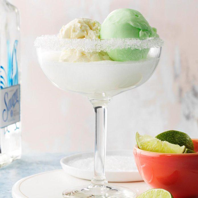 Margarita Float Cocktails
