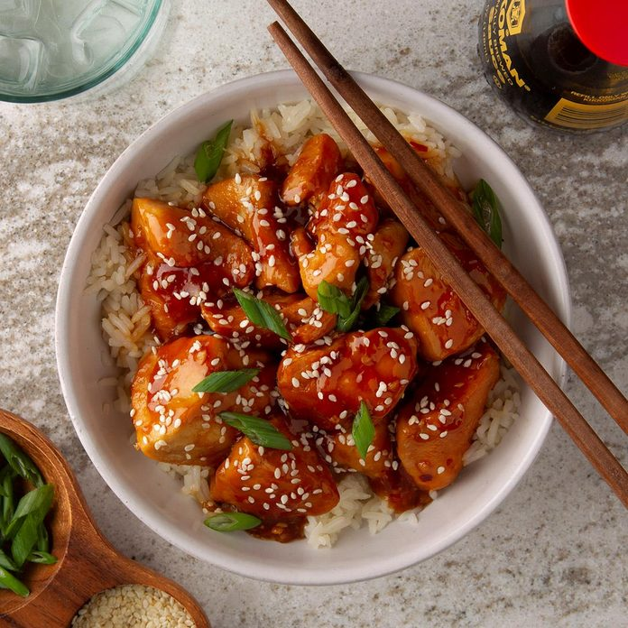 Instant Pot Sesame Chicken