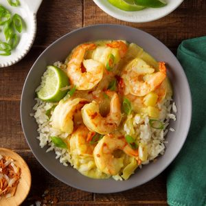 Quick Shrimp Curry