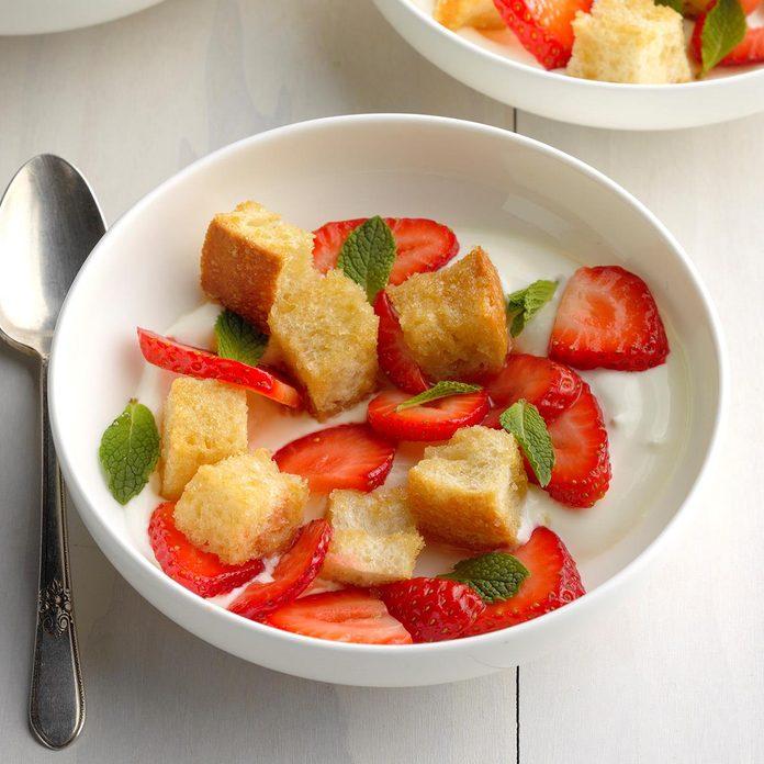 Strawberry Panzanella Salad