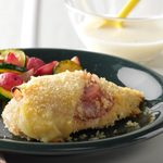 Air-Fryer Chicken Cordon Bleu