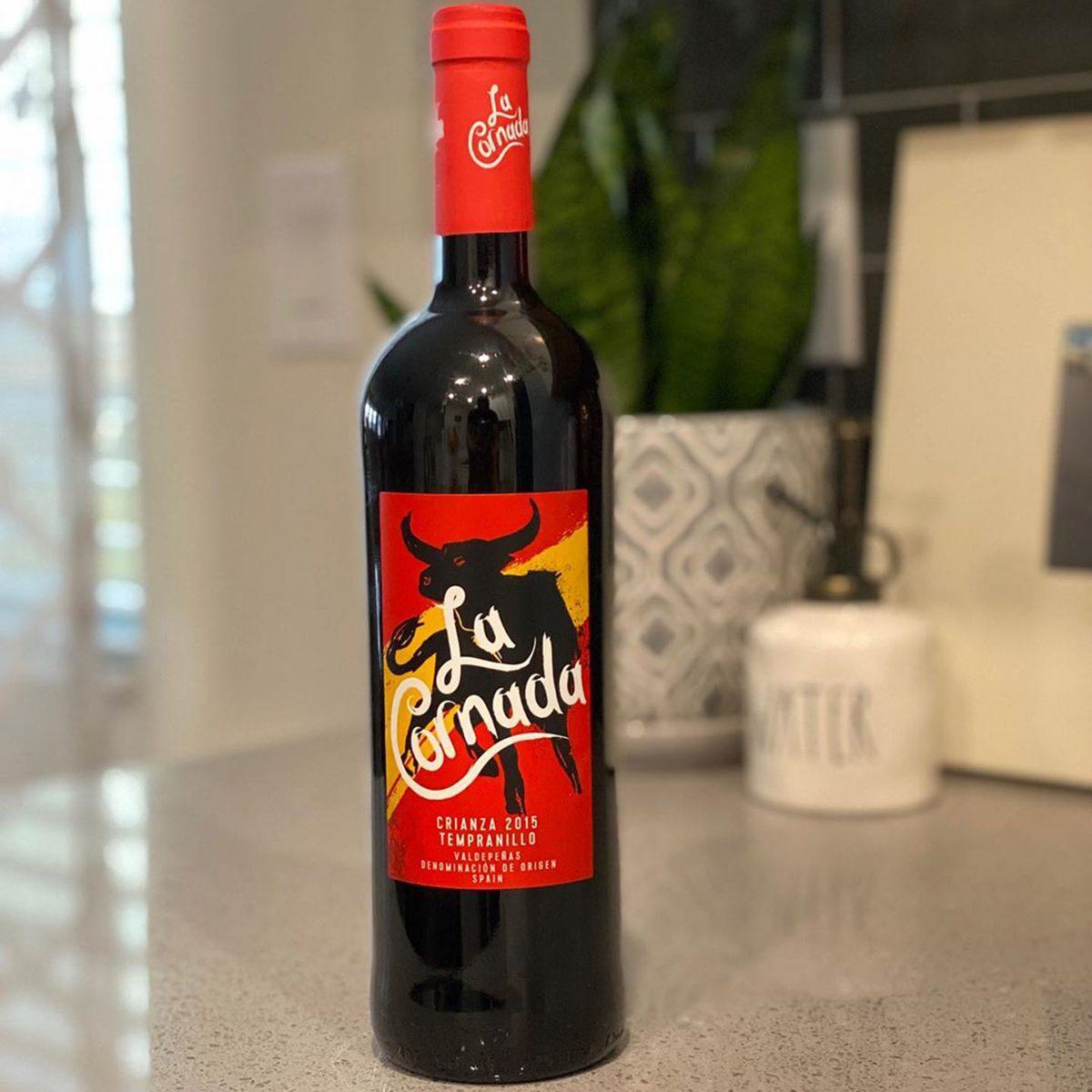 La Cornada Crianza Tempranillo aldi wine
