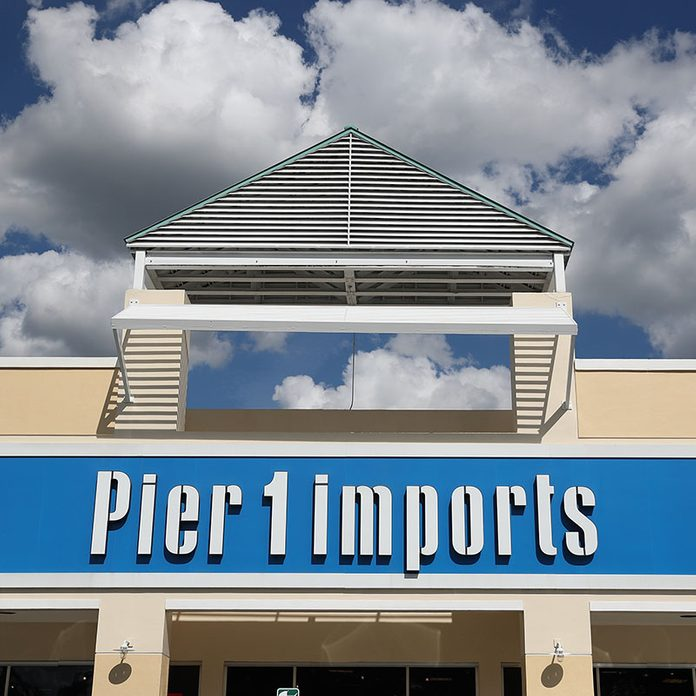MIAMI, FLORIDA - JANUARY 07: The exterior of a Pier 1 Imports store is seen as the company announced plans to close up to 450 locations on January 07, 2020 in Miami, Florida. The announcement made yesterday cited the need for the company to better align its business with the current operating environment. (Photo by Joe Raedle/Getty Images)