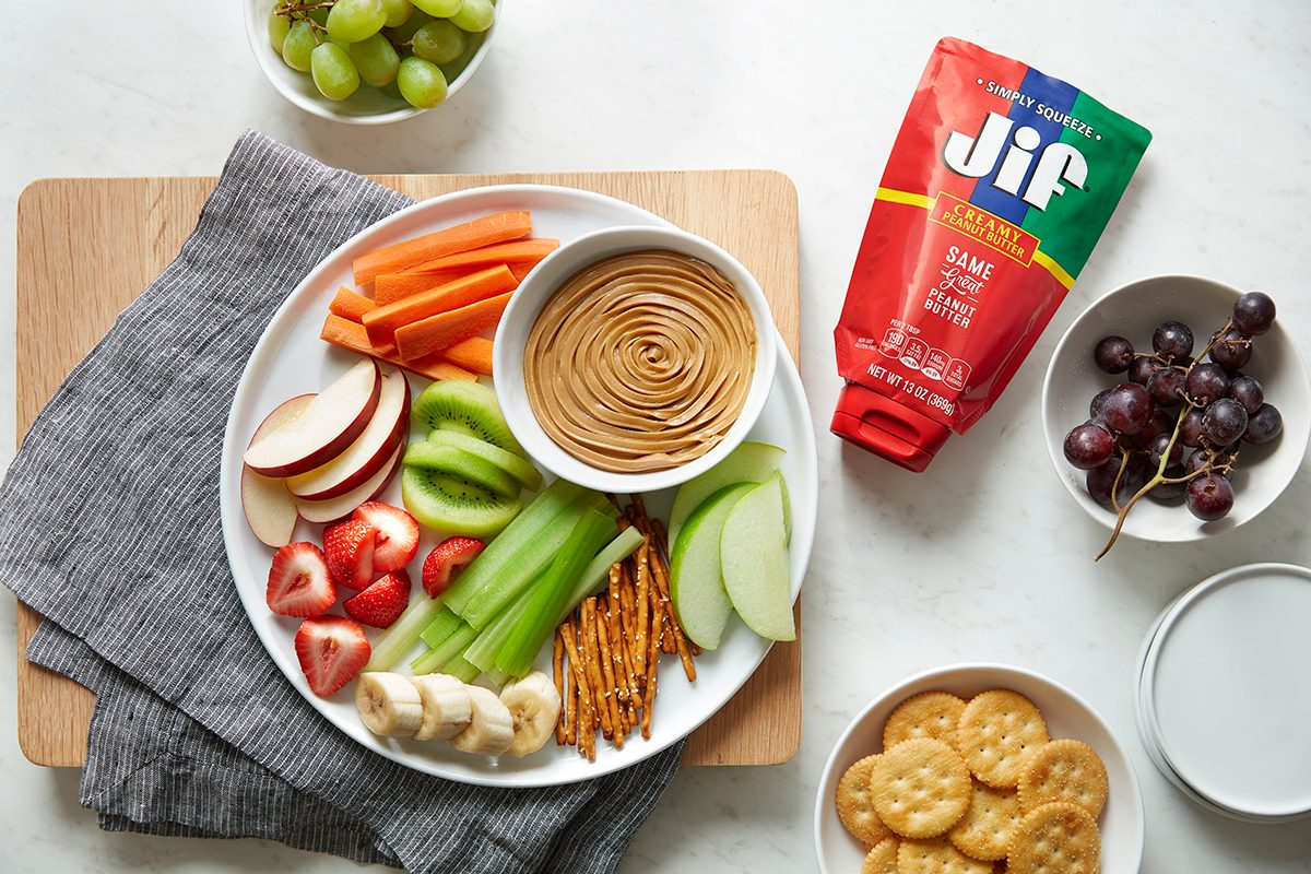 Jif new squeeze peanut butter