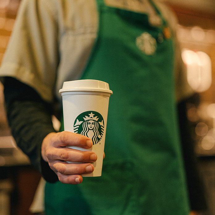 Starbucks Sustainability Commitment Reusable Cups