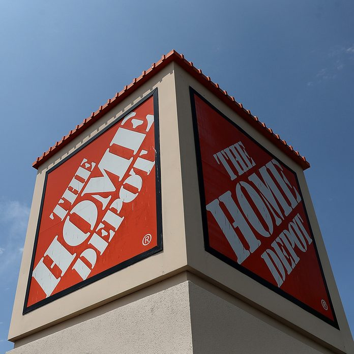 EL CERRITO, CA - AUGUST 14: A sign is posted in front of a Home Depot store on August 14, 2018 in El Cerrito, California. Home Depot reported second quarter earnings that surpassed analyst expectations with net income of $3.5 billion, or $3.05 per share, compared to $2.7 billion, or $2.25 per share, one year ago. (Photo by Justin Sullivan/Getty Images)
