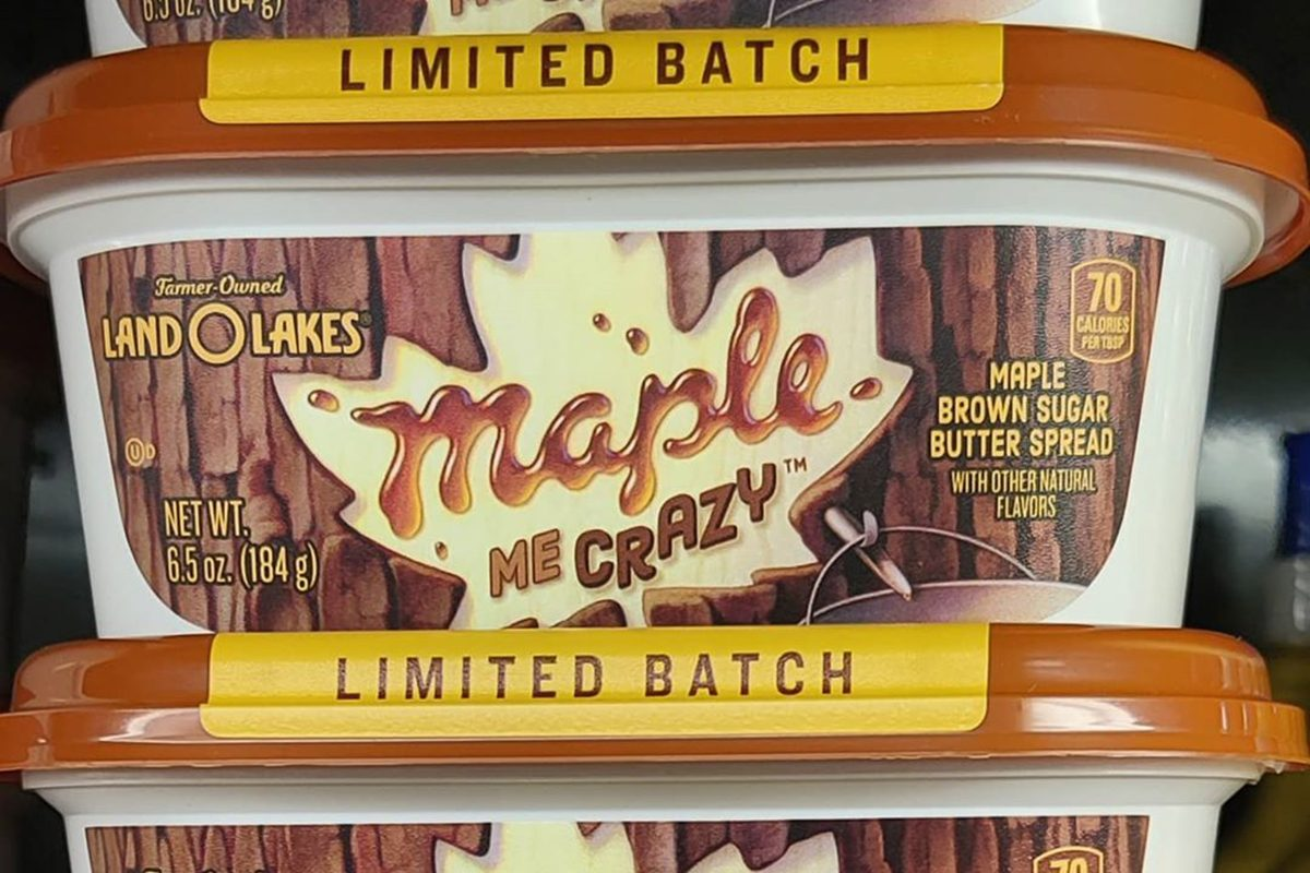 Land O Lakes Maple Butter