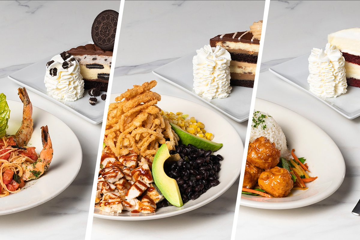 Cheesecake factory lunch combos special