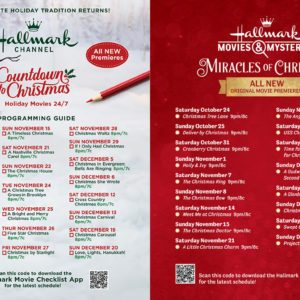 Hallmark Is Premiering 40 All-New Christmas Movies This Year
