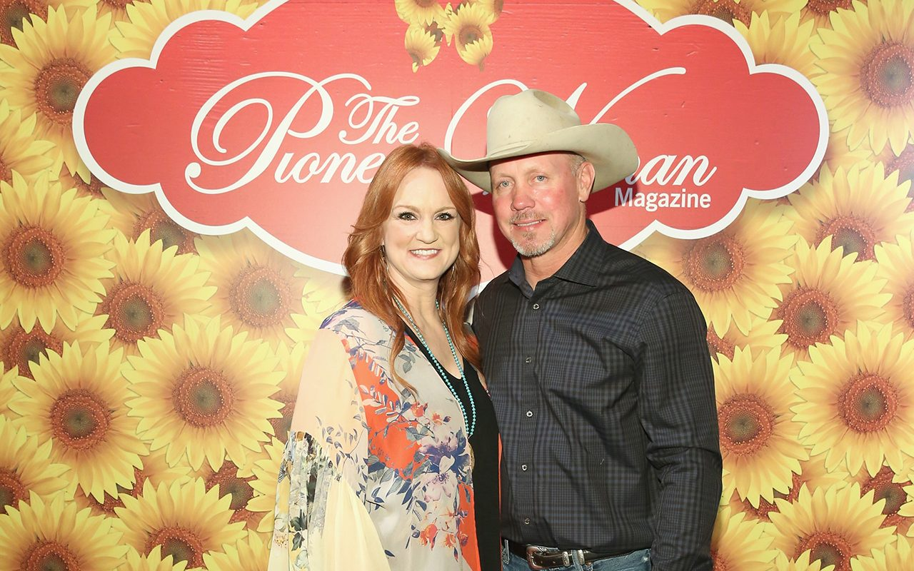 NEW YORK, NY - JUNE 06: Ree Drummond (L) and Ladd Drummond pose for a photo during The Pioneer Woman Magazine Celebration with Ree Drummond at The Mason Jar on June 6, 2017 in New York City. (Photo by Monica Schipper/Getty Images for The Pioneer Woman Magazine)