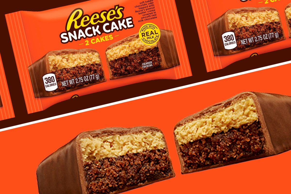 New Reese's Snack cakes
