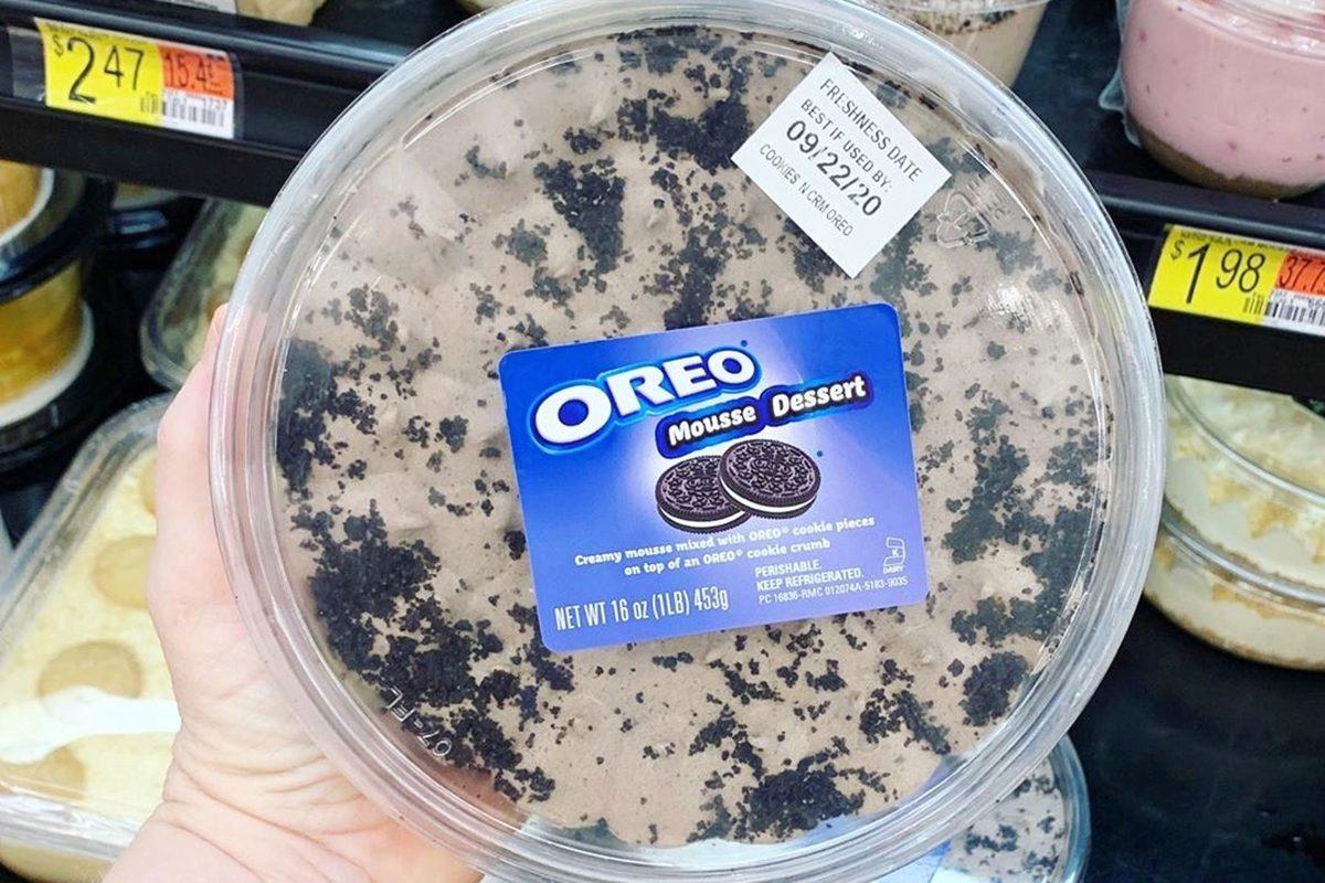 Walmart Oreo Mousse Tub
