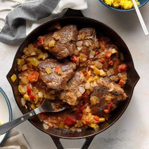 Autumn Lamb Skillet