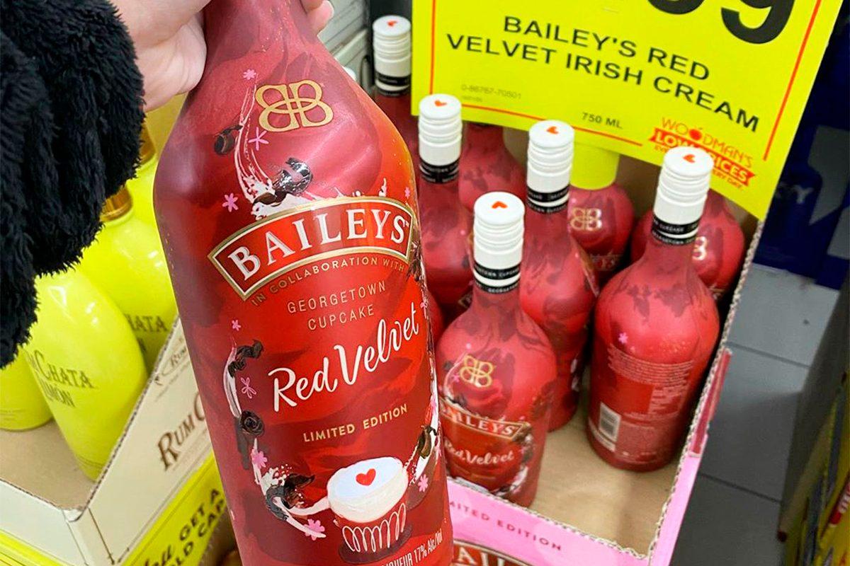 Baileys Limited Edition Red Velvet Cupcake flavor