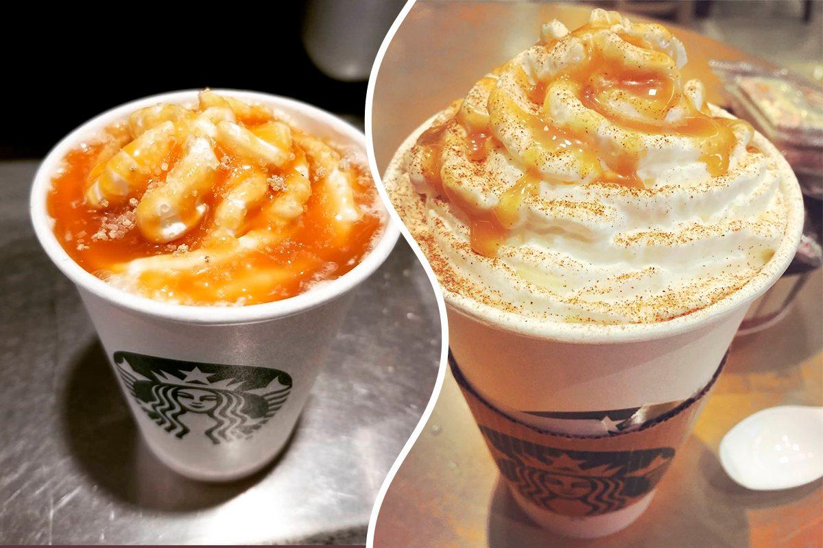 Caramel Apple Pumpkin Spice starbucks drink