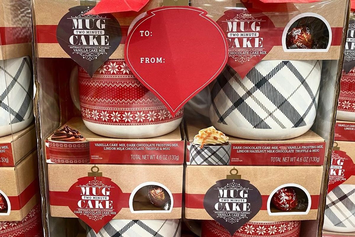 2 minute cake mugs from Costco