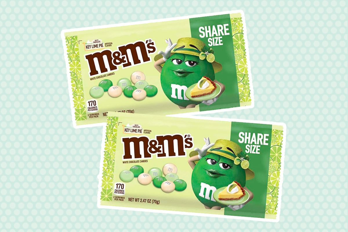 New Key Lime Pie M&M's