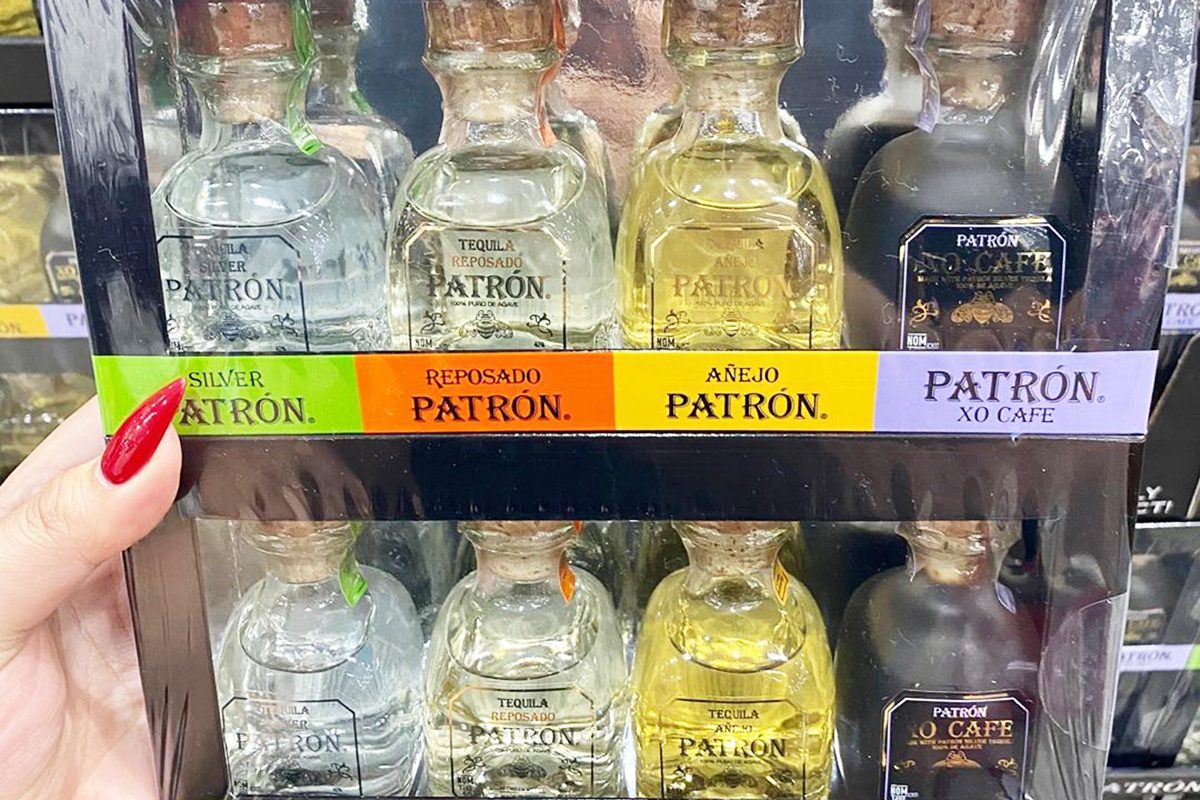 Patron Tequila Variety Packs at Costco