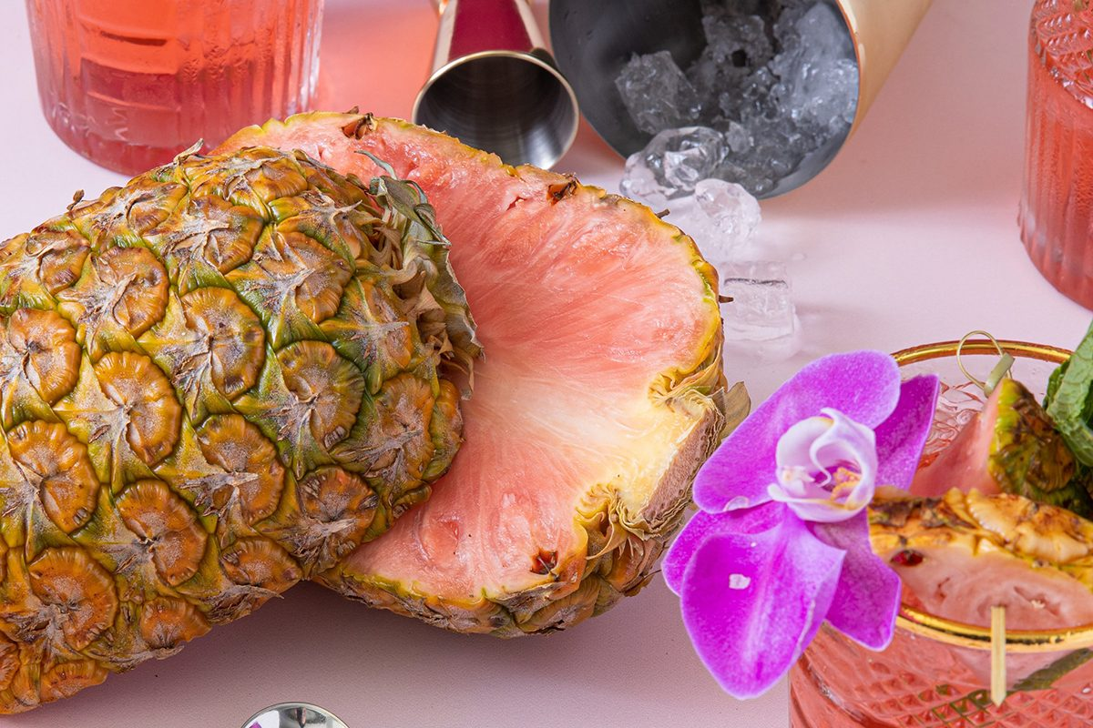 Pinkglow pineapple by Del Monte