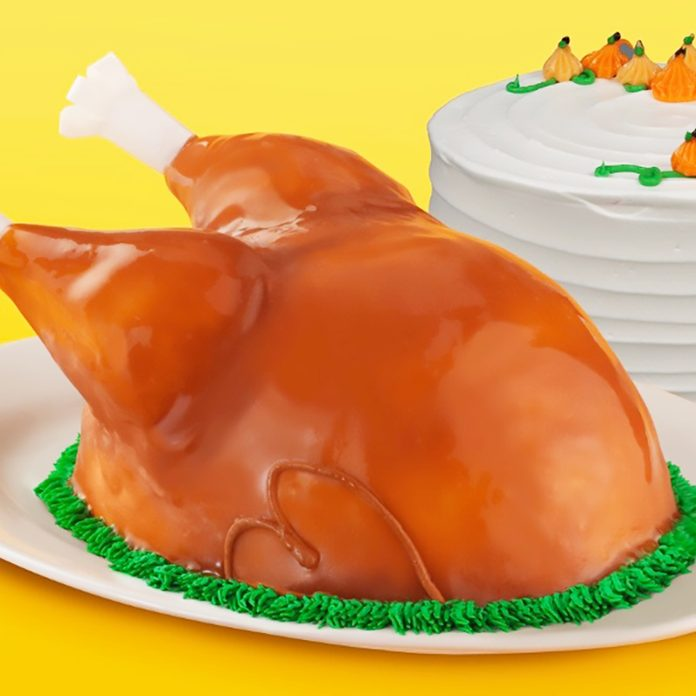 Baskin Robbins Classic turkey cake